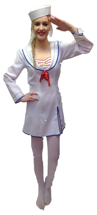 NEW Female Sailor Hire Costume - The Ultimate Balloon & Party Shop