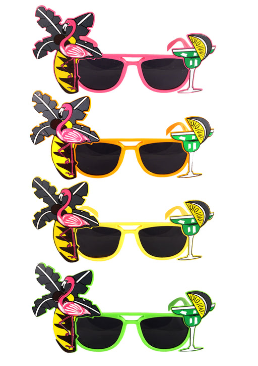 Flamingo Bright Sunglasses - The Ultimate Party Shop
