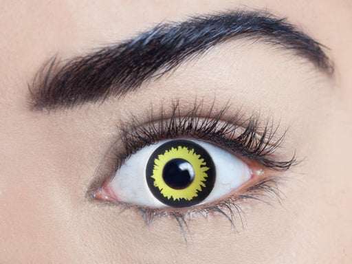 Wolf Black & Yellow Eye Accessories - The Ultimate Party Shop