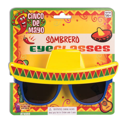 Sombrero Mexican Sunglasses - The Ultimate Party Shop