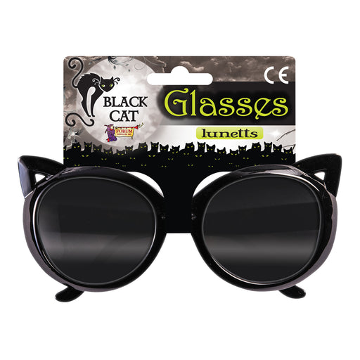Black Cat Sunglasses - The Ultimate Party Shop