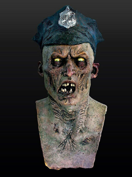 Zombie Cop Overhead Mask - The Ultimate Party Shop