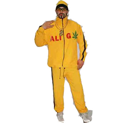 Ali G Hire Costume - The Ultimate Balloon & Party Shop