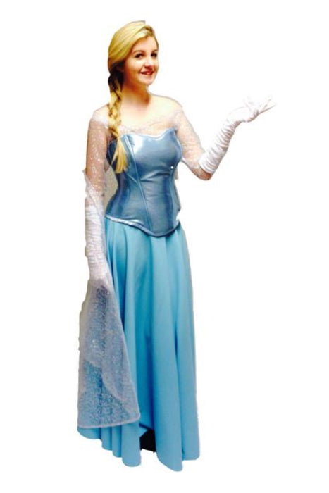 Ice Queen from Frozen Hire Costume - The Ultimate Party Shop