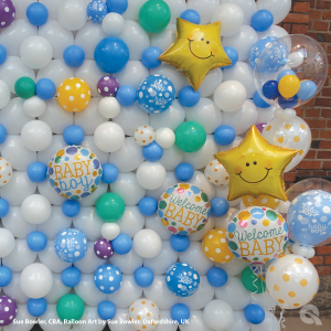 Balloon Wall Backdrop - The Ultimate Party Shop