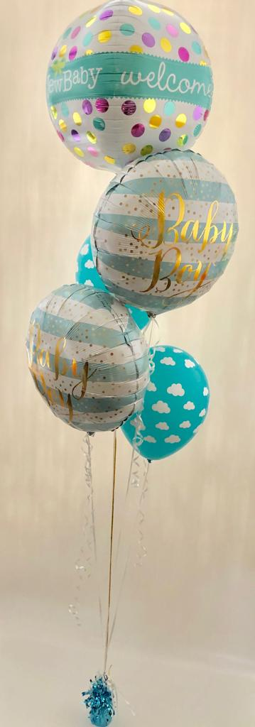 Baby Shower Balloon Bouquet - The Ultimate Balloon & Party Shop