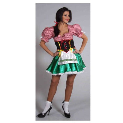 Bavarian Lady Hire Costume - The Ultimate Balloon & Party Shop