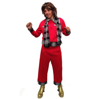 Bay City Rollers Hire Costume - The Ultimate Party Shop