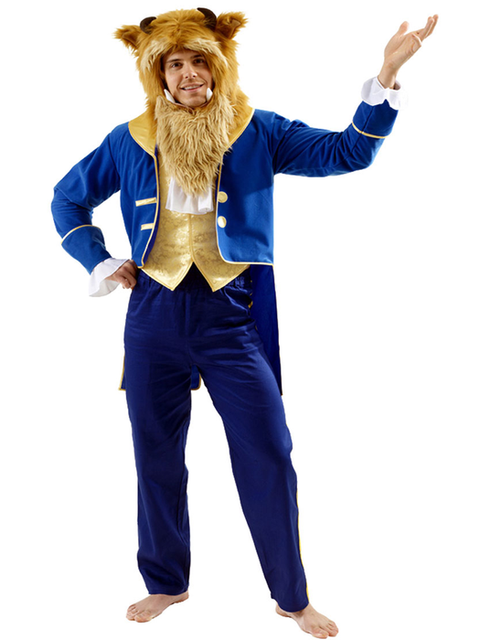 Beast From Beauty & The Beast Hire Costume - The Ultimate Party Shop