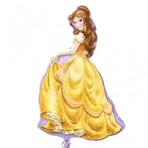 "37"" Foil Belle Disney Large Printed Balloon - The Ultimate Party Shop"
