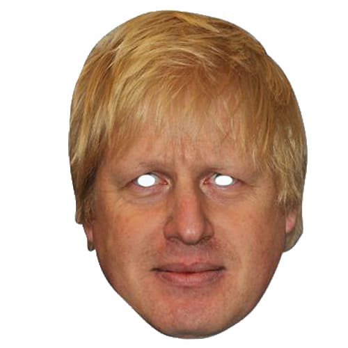 Boris Johnson Mask - The Ultimate Party Shop