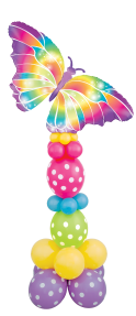 Butterfly Link-a-Loon Pillar - The Ultimate Balloon & Party Shop