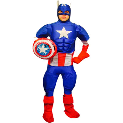 America Hero Hire Costume - The Ultimate Party Shop
