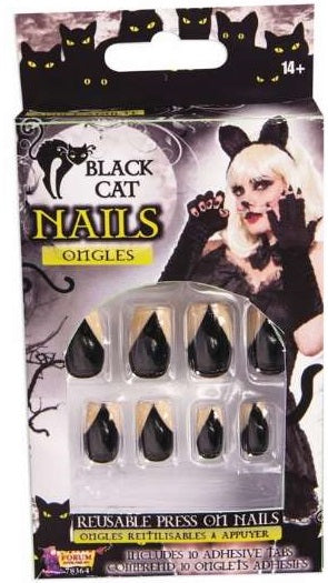 Halloween Nails - Cats