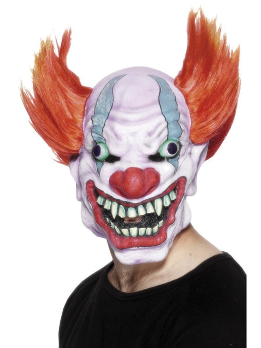 Horror Clown Full Face Mask - The Ultimate Balloon & Party Shop