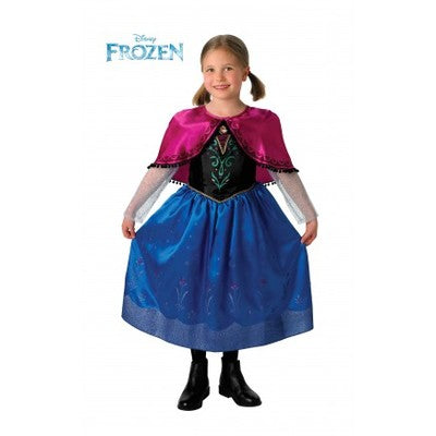 Disney Frozen Anna Deluxe Children's Costume - The Ultimate Party Shop