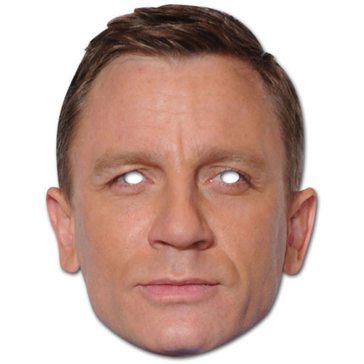 Daniel Craig Mask - The Ultimate Party Shop