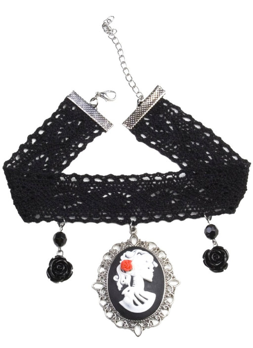 Day Of The Dead - Choker - The Ultimate Party Shop