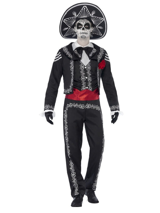 Day Of The Dead Senor Costume - The Ultimate Balloon & Party Shop