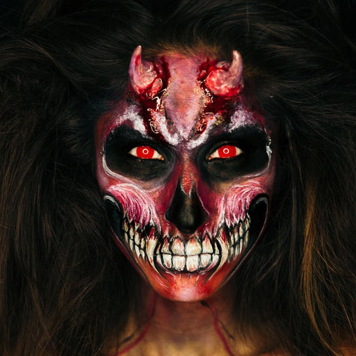 "Devil Lady with Blood Red Eyes ""Get the Look"" Makeup Bundle - The Ultimate Balloon & Party Shop"