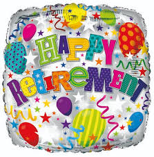 "18"" Foil Happy Retirement Balloon - The Ultimate Balloon & Party Shop"