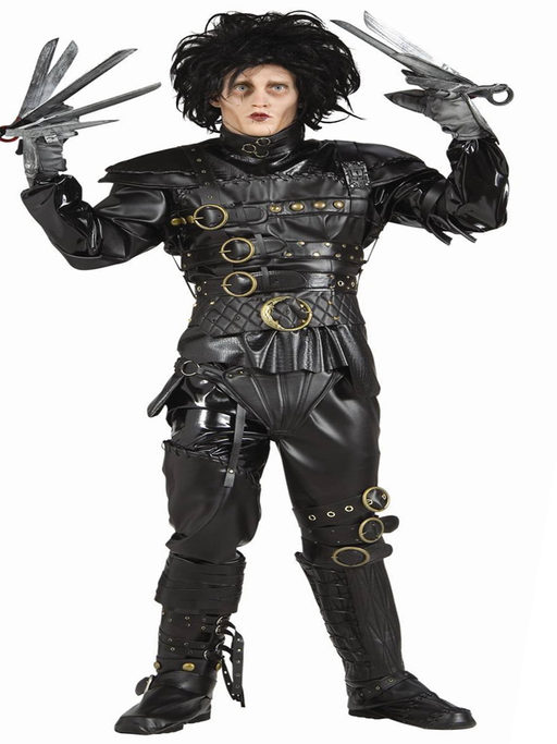 Edward ScissorHands Hire Costume - The Ultimate Party Shop
