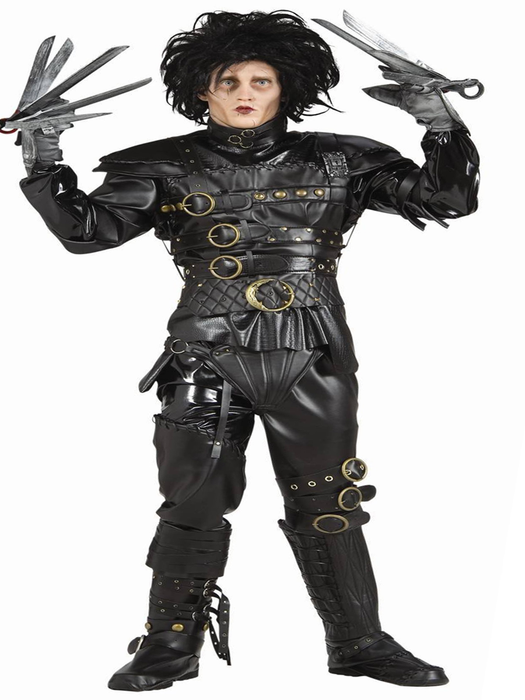 Edward ScissorHands Hire Costume