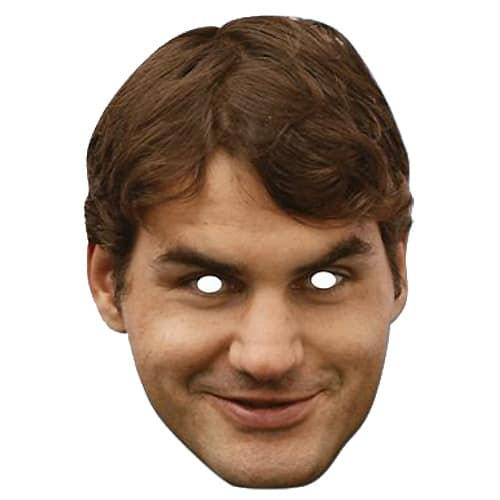 Roger Federer Mask - The Ultimate Balloon & Party Shop