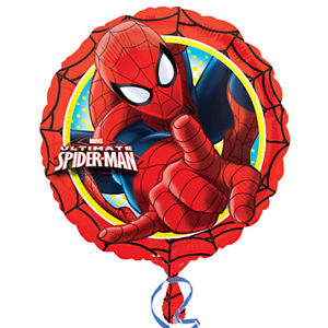 "18"" Foil Spiderman Printed Balloon - The Ultimate Party Shop"