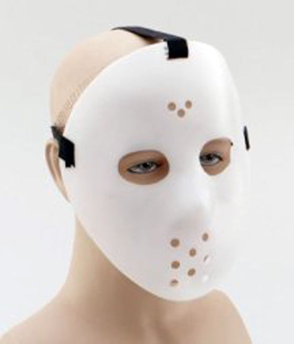 White Hockey Mask - The Ultimate Party Shop