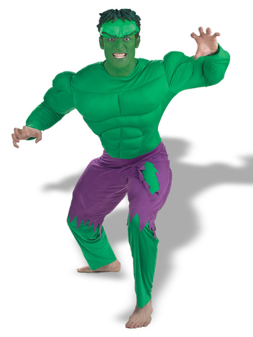 Incredible Superhero Hire Costume - The Ultimate Party Shop