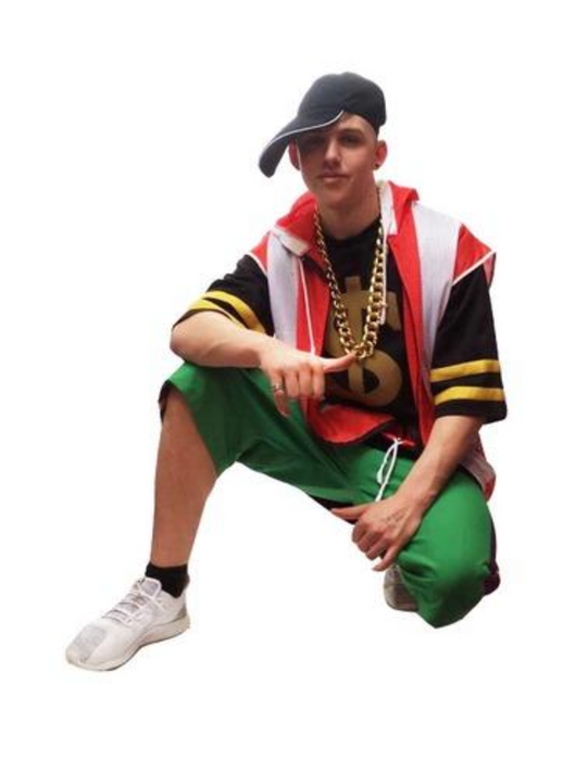 NEW Vanilla Ice Hire Costume - The Ultimate Party Shop