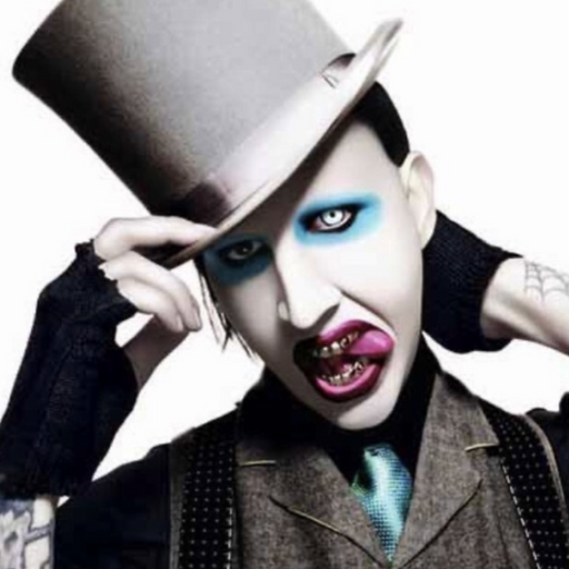 "Marilyn Manson ""Get the Look"" - The Ultimate Balloon & Party Shop"