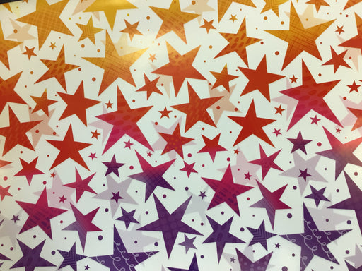 Celebration Gift Wrap - Ombre Stars - The Ultimate Balloon & Party Shop