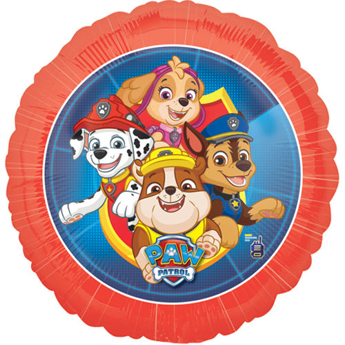 "18"" Foil Paw Patrol Gang Printed Balloon - The Ultimate Balloon & Party Shop"