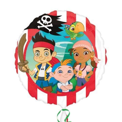 "18"" Foil Jake & Never Land Pirates Printed Balloon - The Ultimate Balloon & Party Shop"