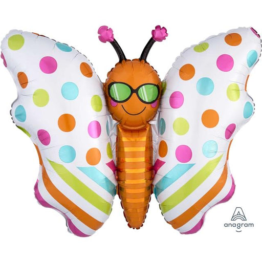"30"" Foil Butterfly Shape Balloon - The Ultimate Balloon & Party Shop"