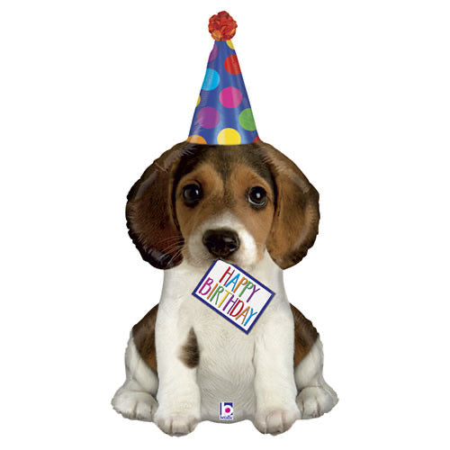 Birthday Super Shape Balloon - Puppy - The Ultimate Balloon & Party Shop