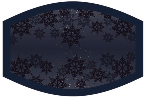 Christmas Face Protecter Mask - Snowflakes. - The Ultimate Balloon & Party Shop