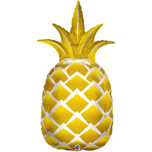 "44"" Foil Pineapple Shape Balloon - The Ultimate Balloon & Party Shop"