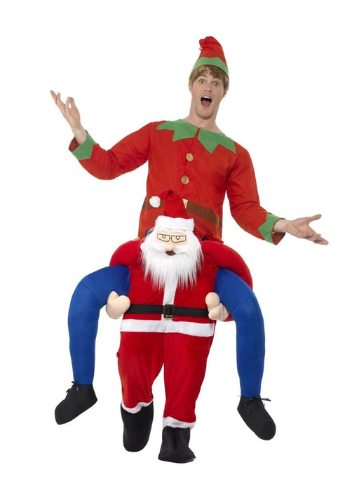 Christmas Piggy Back Costume - Santa - The Ultimate Balloon & Party Shop