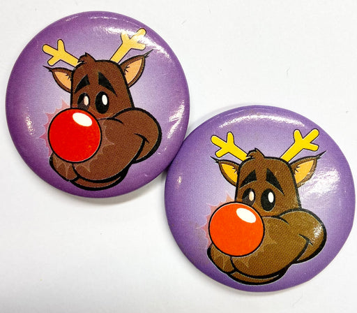 Christmas Badge - Rudolph - The Ultimate Balloon & Party Shop