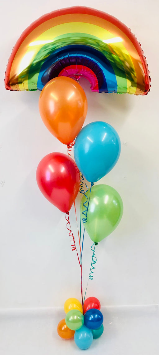 Rainbow Bright 5 Balloon Display - The Ultimate Balloon & Party Shop