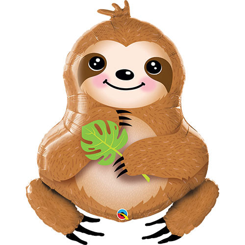 Large Animal Shape Foil Balloon - Sloth - The Ultimate Balloon & Party Shop