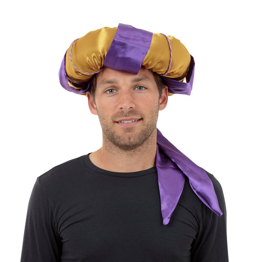 Sultan Gold/Purple Hat - The Ultimate Balloon & Party Shop
