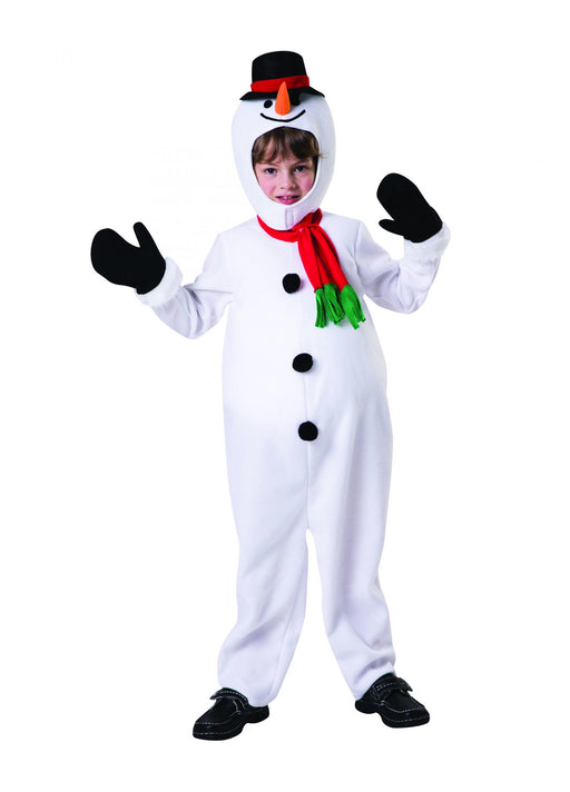 Child's Snowman Costume - The Ultimate Balloon & Party Shop