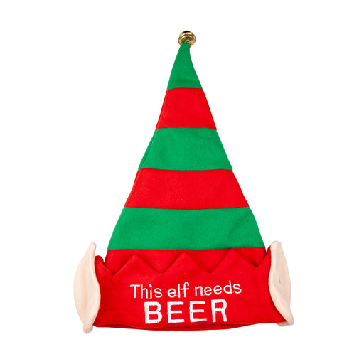 Elf Hat With Ears - Needs Beer - The Ultimate Balloon & Party Shop