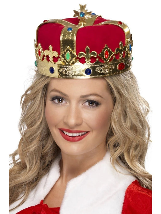 Queen Jewelled Hard Crown - The Ultimate Balloon & Party Shop