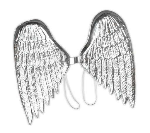 Silver Angle Wings (Childs) - The Ultimate Balloon & Party Shop
