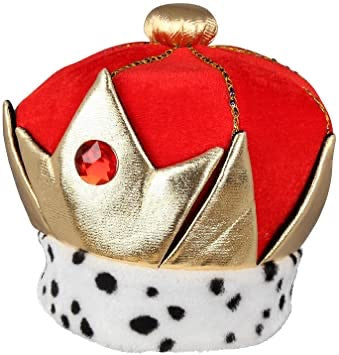Plush Jewelled Soft Crown - The Ultimate Balloon & Party Shop